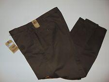 NWT, DOCKERS Flat Front Soft Khaki ~ 40 X 30 ~ Green ~ 100% Cotton ~ NEW