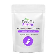 Test My Allergy - Erbe & Spezie Intolleranza Test Kit