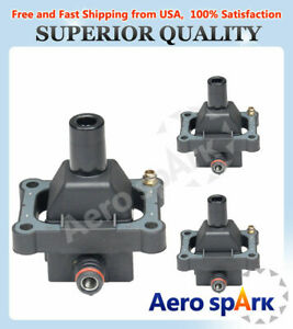 Ignition Coil set of 3 For Mercedes-Benz S320 E320 C280 SL320 UF527 UF137
