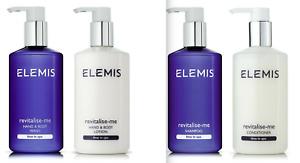 Elemis Revitalise-Me Hand & Body Lotion, Elemis Shampoo & Conditioner 300ml, New