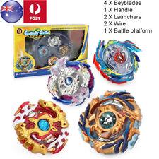 4Pcs/Set Beyblade Burst Stadium Arena With Launcher Battle Platform Kids Toys AU