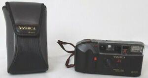 Yashica AF-j2, 32mm lens, vintage film camera with protective carry case