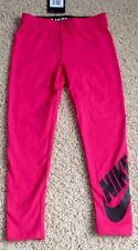 NWT NIKE  Kid Girl Size 4  Rush Pink Athletic Leggings Spandex NEW 2 available