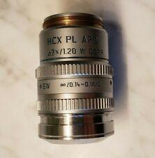 Leica Plan Apo 63x/1.20 W [infinity]/0.14 -0.18/D Corr Objective 506131