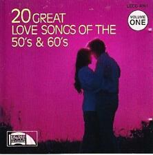 The Delrons : 20 GREAT LOVE SONGS OF THE 50s & 60s VOL CD
