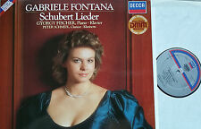 Schubert canzoni canzoni Fontana pescatori Schmidl LP DECCA digital 642973 NM/M