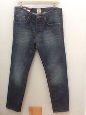 Denim Co Jeans Ajustados Medio Wash Denim Azul. W32xL30. < N1731