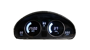 1989-1997 Mazda Miata 5 Digital Dash Panel White LED Gauges Made In The USA!