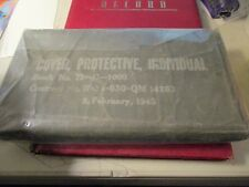 WWII Chemical Warfare Cover, Protective, Individual Unopened