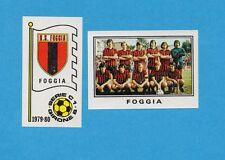 PANINI CALCIATORI 1979/80-Figurina n.526- FOGGIA - SQUADRA+SCUDETTO -Rec