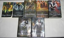 CASSANDRA CLARE lot 7 fantasy books 1-5 Mortal Instruments 1-2 Infernal Devices