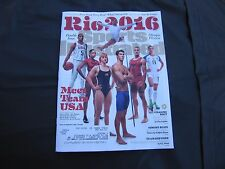 Rio 2016 Olympics Team USA Sports Illustrated Cover 07-25-16
