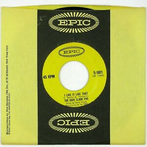 DAVE CLARK FIVE I Like It Like That/Hurting Inside 7IN 1965 ROCK VG++