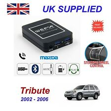 For Mazda Tribute Music Stream Bluetooth Telephon Charger SD AUX CD Digit Module