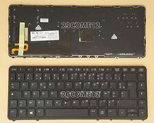 for HP Elitebook 840 G1 850 G1 840 G2 Keyboard Backlit French Clavier 731179-051