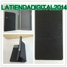 FUNDA CARCASA LG L70 D320N / L65 D280N TAPA CIERRE VENTOSA MADERA NEGRO