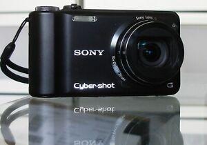 Sony Cyber-Shot DSC-HX5V 10,2MP + 8GB + Etui - Schwarz