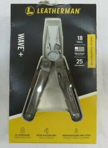 Leatherman WAVE+ 18 Tool Multipurpose Tool 832563 Stainless Steel W/ Sheath