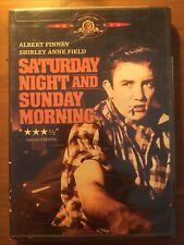 Saturday Night & Sunday Morning - Region 1 DVD - Albert Finney - Karel Reisz