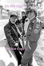 Ronnie Peterson JPS Lotus F1 Portrait USA West Grand Prix 1978 Photograph