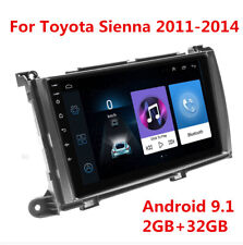 """9"""" Android Stereo Radio GPS Navigation Multimedia Player For Toyota Sienna 11-14"""