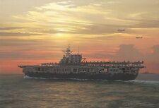 WILLIAM PHILLIPS Toward Setting Sun Doolittle Raid w/Exclusive USS Hornet (CV-8)