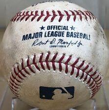 YOAN MONCADA CAREER HIT #39 SINGLE GAME-USED MLB BASEBALL WHITE SOX 2017 ROOKIE