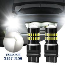 3157 4114 3057 LED Backup Tail Brake Signal Light Projectors Bulbs 6000K White