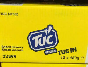 Jacob's TUC Original Biscuits 150g x 12