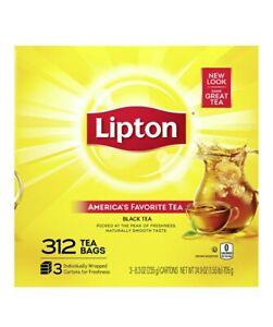Lipton Tea Bags (312 ct.), SEALED ITEM!!