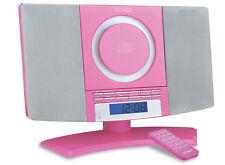 Denver MC-5220 Rosa Lettore CD FM RADIO OROLOGIO SVEGLIA stereo HiFi - B-STOCK
