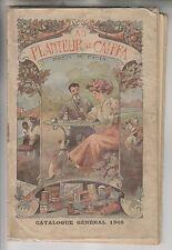 1908 FRENCH CATALOGUE GENERAL - AU PLANTEUR DE CAIFFA - MAISON M. CAHEN