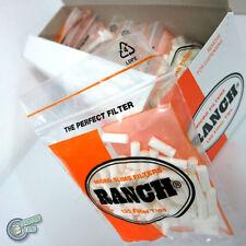 12x130 RANCH MICRO SLIM ORANGE Filter Cigarette tips tubes rolling paper