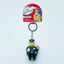The Simpsons - Chief Wiggum PVC Figural Keychain/Key Ring 27741
