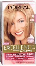 LOreal Excellence Creme - 8 Medium Blonde (Natural) 1 Each (Pack of 2)