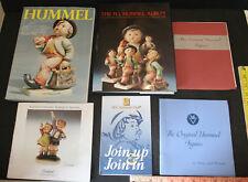 Lot Of 6 Goebel Hummel Books Reference Collectors Guides Catalog