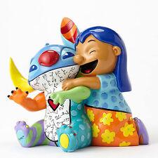 ✿ DISNEY Romero Britto Figurine Stitch and Lilo