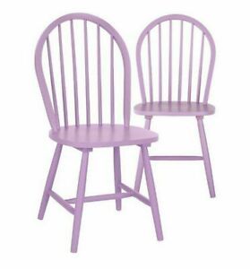 Pair of Daisy Dining Chairs - Pink/Yellow