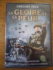 DVD * LA GLOIRE ET LA PEUR * Gregory PECK / Harry GUARDINO Guerre MILESTONE