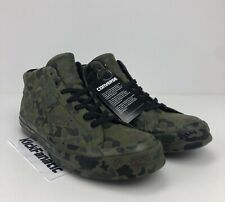 Converse One Star Mid Full Camo Camouflage Herbal Collard-Black Mens 8 Womens 10