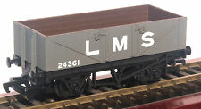 Mainline Rlys 5 plank wagon LMS grey suit Triang/Hornby/Bachmann/Branchline