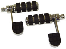 ANTI-VIBE FOOT PEGS WITH HEEL REST HARLEY SPORTSTER XL 883 1200 IRON NIGHTSTER