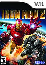 Iron Man 2 (Nintendo Wii, 2010) Missing manual