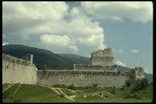 382001 Old Fortifications Umbria Assisi Italy A4 Photo Print