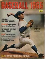 1966 Whitestone Baseball, magazine, Sandy Koufax, Los Angeles Dodgers FAIR