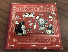 Vintage The Baby's Opera By Walter Crane Book