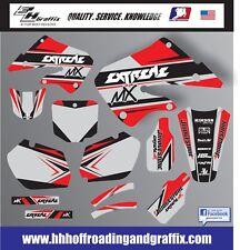 Graphic Kit for 1997-1999 Honda CR250 CR 250 shrouds fender plastic decals