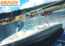 Origin Advancer Boat Wakeboard Tower 2.25 inch Tube Polished 5 Year Warranty