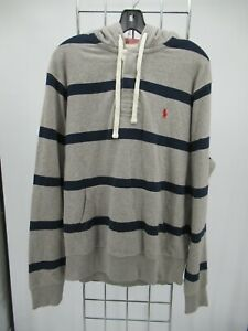 K0048 Polo Ralph Lauren Men's Pull-Over  Hoodie Sweatshirt Size L