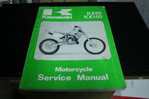 Kawasaki KX80 and KX100 service manual.